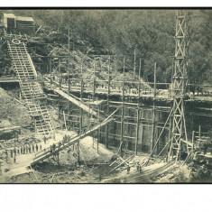 Romania 1913 Breazova-Valiug, Caras-Severin lac acumulare, dig ilustrata RRR - Carte Postala Banat 1904-1918, Circulata, Fotografie