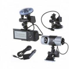 Camera Auto Cu 2 Camere HD Fata-Spate Si GPS - Cablu USB Tableta