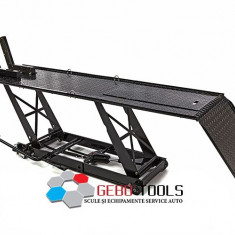 Elevator hidraulic motociclete 450kg Black/Negru. - Elevator motociclete
