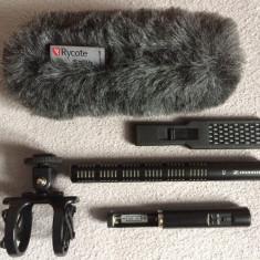 Kit Profesional Microfon SENNHEISER ME66 (Super-cardioid Shotgun microphone).