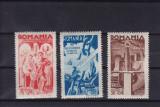 ROMANIA 1943  LP 154 I   CONSILIUL  DE PATRONAJ  SERIE SARNIERA, Nestampilat