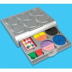 Placinta Fractiilor - Jocuri Logica si inteligenta Educational Insights