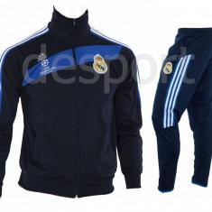 Trening REAL MADRID - Bluza si pantaloni conici - Modele noi - Pret Special 1219 - Trening barbati, Marime: S, M, L, XL, XXL, Culoare: Din imagine