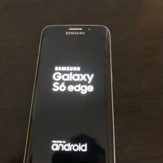 Vand Samsung S6 Edge - Telefon Samsung, Albastru, 32GB, Neblocat