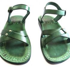 Sandale Dama Clasice Piele Naturala Artemis Verzi