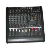 MIXER AUDIO CU AMPLIFICATOR CONSOLA DJ 8 CANALE PMQ2108 2X240W
