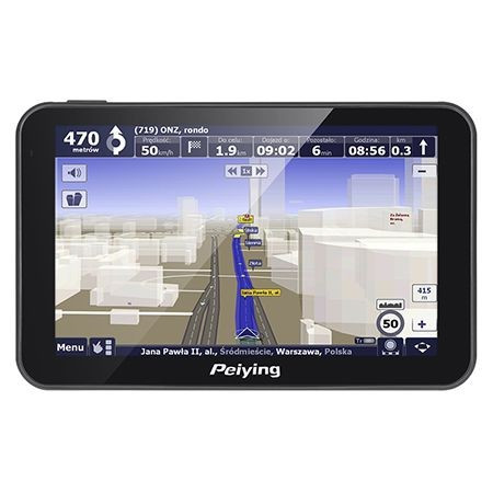 GPS 5 INCH PEIYING foto mare