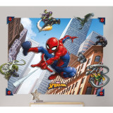 Tapet 3D pentru Copii Spiderman, Walltastic