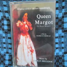 GORAN BREGOVIC - QUEEN MARGOT (1 CASETA AUDIO ORIGINALA, ARE CARTICICA! CA NOUA!