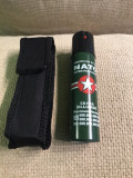 Spray paralizant autoaparare NATO CS mare/ 90 ml cu husa
