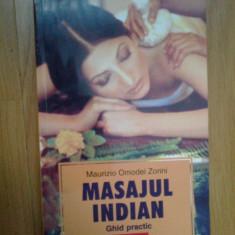 N5 Masajul indian. Ghid practic - Maurizio Omodei Zorini - Carte Medicina alternativa
