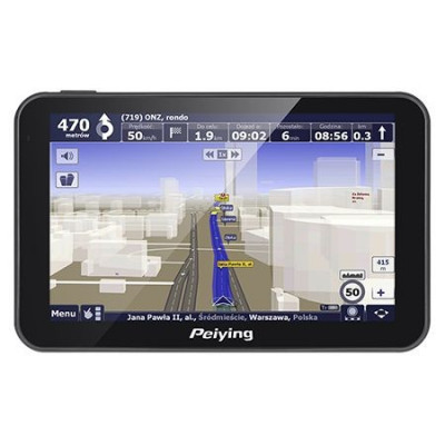 GPS 5 INCH PEIYING foto