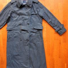 Palton Burberrys Made in England; vezi dimensiuni in a doua poza; impecabil - Palton barbati, Marime: L, Culoare: Din imagine