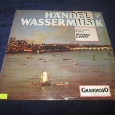 Raymond Leppard, L.Pearson - Handel Wassermusik _ vinyl, LP _ - Muzica Clasica Philips, VINIL