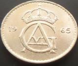 Cumpara ieftin Moneda 50 Ore - SUEDIA, anul 1965 *cod 1005 = A.UNC, Europa