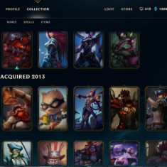 Cont League Of Legends - Joc PC