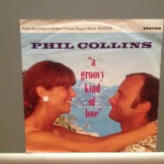 PHIL COLLINS - A GROOVY KIND OF ...(1986/WARNER/RFG) - Vinil Single '7/Impecabil - Muzica Pop Teldec