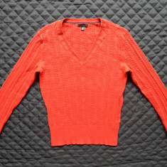 Bluza tricotata Tommy Hilfiger. Marime L: 49 cm bust, 61 cm lungime etc. - Bluza dama, Marime: L, Culoare: Din imagine