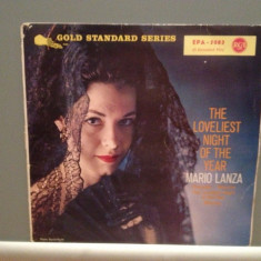 MARIO LANZA - THE LOVELIEST NIGHT OF....(1960/RCA/RFG) - Vinil mini LP/Impecabil - Muzica Opera rca records