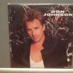 DON JOHNSON- HEART BEAT/CAN'T TAKE...(1986/EPIC/RFG) - Vinil Single pe '7/NM - Muzica Pop Epic rec
