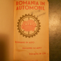 ROMANIA IN AUTOMOBIL * GHID CALATORIE * CONTINE HARTI {editie veche} - Ghid de calatorie