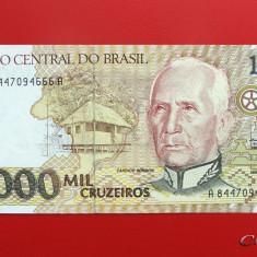 BRAZILIA - 1.000 Cruzeiros 1990 - UNC - bancnota america