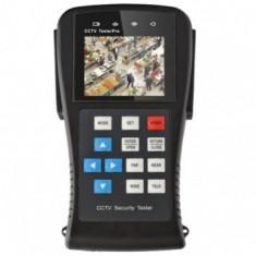 Tester -camera supraveghere - CCTV portabil cu acumulator