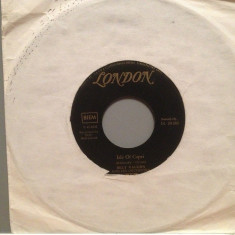 BILLY VAUGHN - WHEELS/ISLE OF CAPRI (1957/LONDON/RFG) - Vinil Single pe '7/VG+