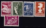 Bulgaria 1947  sport  balcaniada  SAH  MI 606-610    MNH  w47, Nestampilat