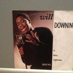 WILL DOWNING - A LOVE SUPREME ...(1988/ISLAND/RFG) - Vinil Single '7/Impecabil - Muzica Pop Island rec