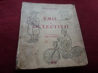 ERICH KASTNER - EMIL SI DETECTIVII 1945 foto