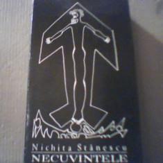 Nichita Stanescu - NECUVINTELE { 1969, prima editie } - Carte poezie