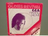 C.C.S. - WALKING/SALOME (1974/EMI/RFG)- Vinil Single pe '7/Impecabil, emi records