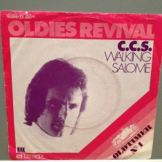 C.C.S. - WALKING/SALOME (1974/EMI/RFG)- Vinil Single pe '7/Impecabil - Muzica Pop emi records