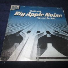 "Trans-Lux - Big Apple Noise _ vinyl,12"" _ Rush Rec. (Germania), VINIL"