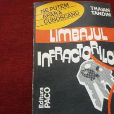 TRAIAN TANDIN - LIMBAJUL INFRACTORILOR