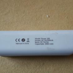 Acumulator extern E-BODA PB 100 -2000mAh - Baterie externa