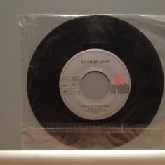 AMANDA LEAR - QUEEN OF CHINA....(1977/ARIOLA/RFG) - Vinil Single pe '7/Impecabil