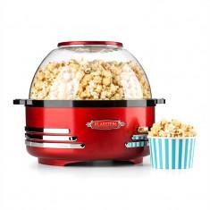 ONEconcept Masina de popcorn Aparat electric roșu - Aparat popcorn