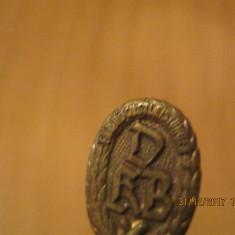 Insigna tip Pin- Germania- DKB - Deutscher Kegel-Bund fur Hochstleistungen. - Jubiliare