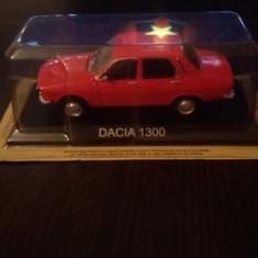 Macheta dacia 1300 - masini de legenda romania - Macheta auto, 1:43