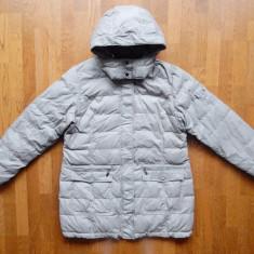 Geaca Zara Collection; umplutura puf natural. Marime XL, vezi dimensiuni exacte - Geaca barbati, Culoare: Din imagine
