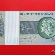 BRAZILIA - 1 Cruzeiro 1980 - UNC - bancnota america