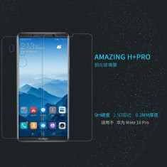 Geam HUAWEI Mate 10 Pro Tempered Glass H+ PRO by Nillkin - Folie de protectie Huawei, Lucioasa