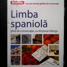 Limba spaniola ghid de conversatie, cu dictionar bilingv