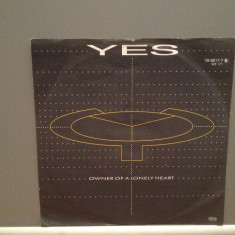 YES - OWNER OF A LONELY HEART..(1983/WARNER/RFG) - Vinil Single pe '7/Impecabila - Muzica Rock