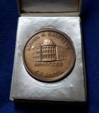 Medalie Liceul N. Balcescu - Craiova 1966 in cutie