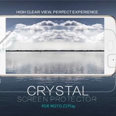 Folie Motorola Moto Z2 Play Transparenta by Nillkin - Folie de protectie Motorola, Lucioasa