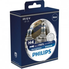 Bec Far Philips H4 RacingVision 150% 12V 60/55W