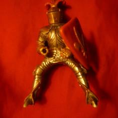 Cavaler Medieval francez, marca Schleich Germania, h= 11 cm